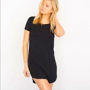 GARAGE Relaxed Fit T Shirt Black Dress